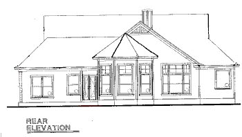 Traditional House Plan 67945 Rear Elevation