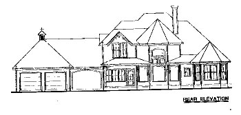 Victorian House Plan 67947 Rear Elevation