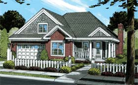 Traditional House Plan 67952 Elevation