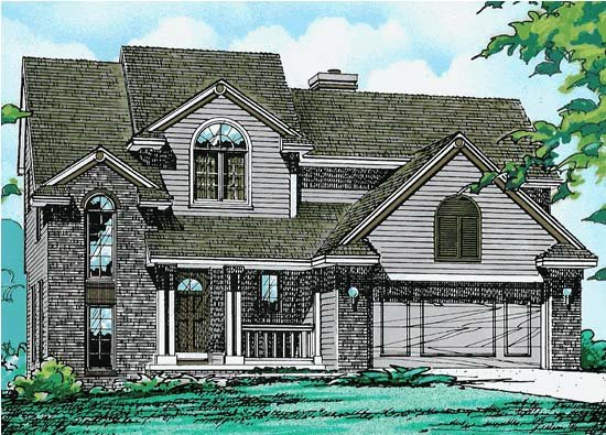 Traditional House Plan 67971 Elevation