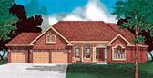 Plan Number 68003 - 2558 Square Feet