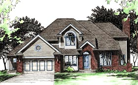 Plan Number 68015 - 2497 Square Feet