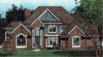 Traditional House Plan 68024 Elevation