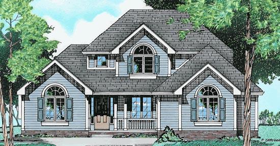 House Plan 68029