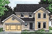 Plan Number 68031 - 1745 Square Feet