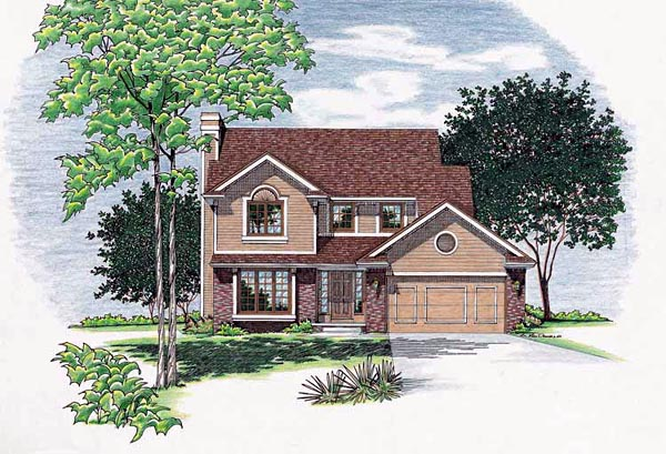 Country Southern House Plan 68032 Elevation
