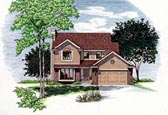 Plan Number 68032 - 1621 Square Feet