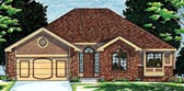 Plan Number 68050 - 1518 Square Feet
