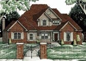 Plan Number 68061 - 2989 Square Feet