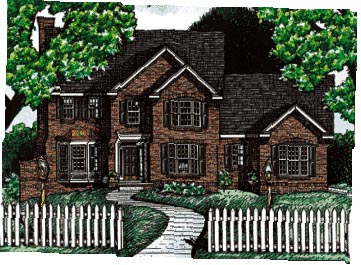 Colonial Southern House Plan 68063 Elevation