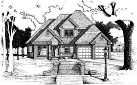 Traditional House Plan 68074 Elevation