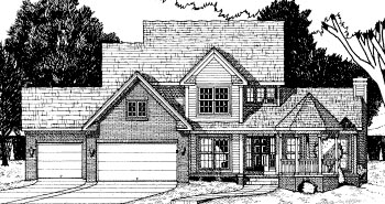 Country Victorian House Plan 68075 Elevation