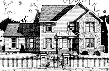 Southern Traditional House Plan 68081 Elevation