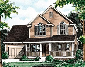 Country House Plan 68089 Elevation