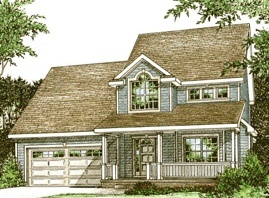Country House Plan 68090 Elevation