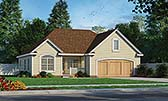 Plan Number 68091 - 1335 Square Feet