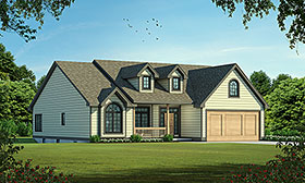 Ranch Traditional House Plan 68095 Elevation