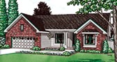 Plan Number 68104 - 1707 Square Feet