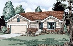 House Plan 68109
