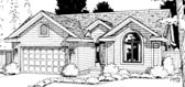 Plan Number 68110 - 1562 Square Feet