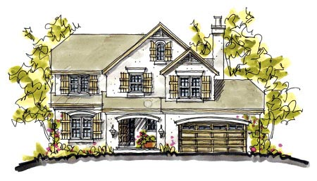 Bungalow Country House Plan 68112 Elevation