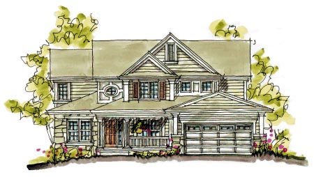 Country Southern House Plan 68117 Elevation