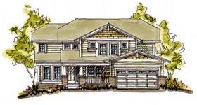 Bungalow House Plan 68118 Elevation