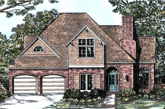Bungalow European House Plan 68126 Elevation