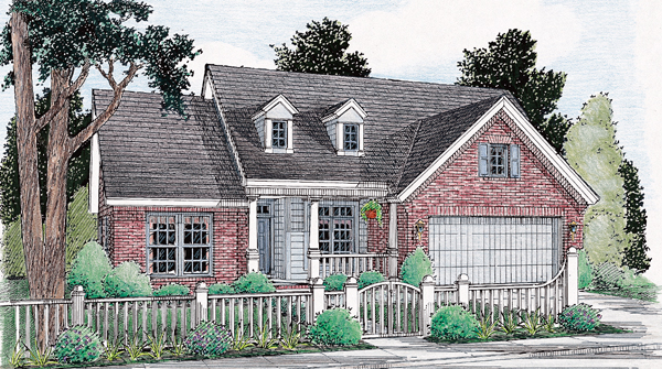 Traditional House Plan 68139 Elevation