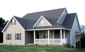 Traditional House Plan 68164 Elevation
