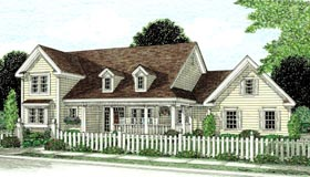 Plan Number 68166 - 2438 Square Feet
