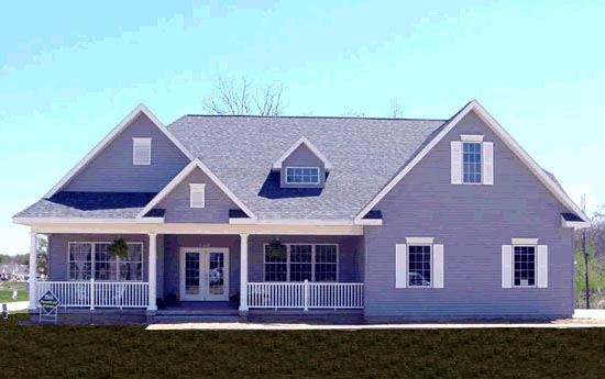 Traditional House Plan 68175 Elevation