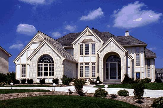 European Victorian House Plan 68182 Elevation