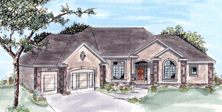 Traditional House Plan 68193 Elevation