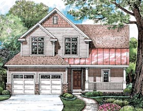 Bungalow Country Southern House Plan 68203 Elevation