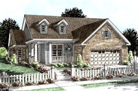 Plan Number 68209 - 1692 Square Feet