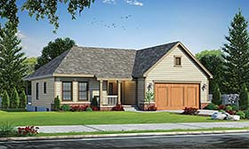 Traditional House Plan 68233 Elevation