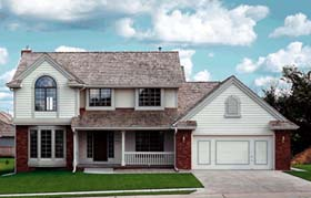 Traditional House Plan 68238 Elevation