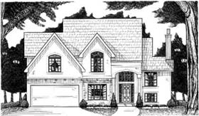 Traditional House Plan 68240 Elevation