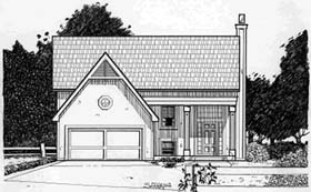 Traditional House Plan 68242 Elevation
