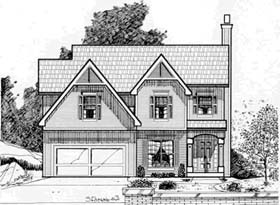 Traditional House Plan 68247 Elevation