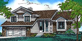 Traditional House Plan 68249 Elevation