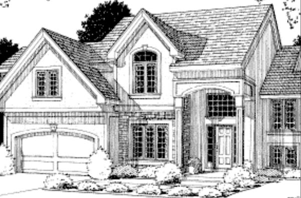 Traditional House Plan 68264 Elevation