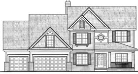 Traditional House Plan 68282 Elevation