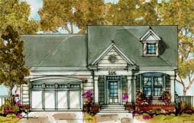 Traditional House Plan 68285 Elevation