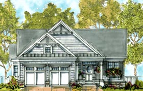 Traditional House Plan 68289 Elevation