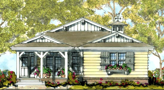 Farmhouse House Plan 68302 Elevation