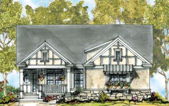 Craftsman House Plan 68305 Elevation