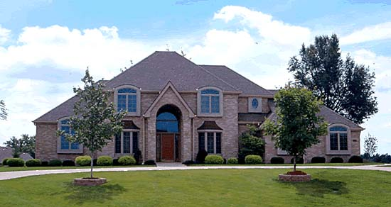 European House Plan 68311 with 4 Beds, 4 Baths, 3 Car Garage Picture 1