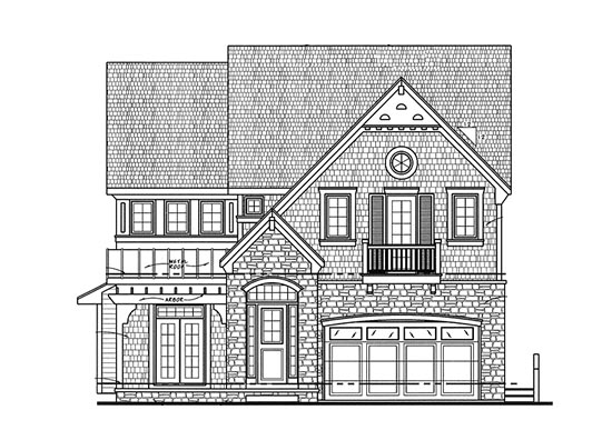 House Plan 68317 Elevation